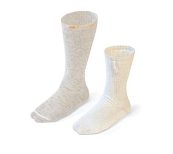esempio di applicazione dei 'phase change material - termoset' in dei calzini invernali