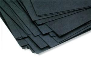carta, cartone, paperboard, fibreboard, tinto nero con carbon black