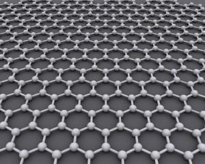 disposizione degli atomi di carbonio nel grafene